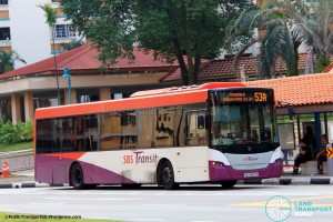 SBST Scania K230UB (SBS8657D) - Service 53A (Old Route)