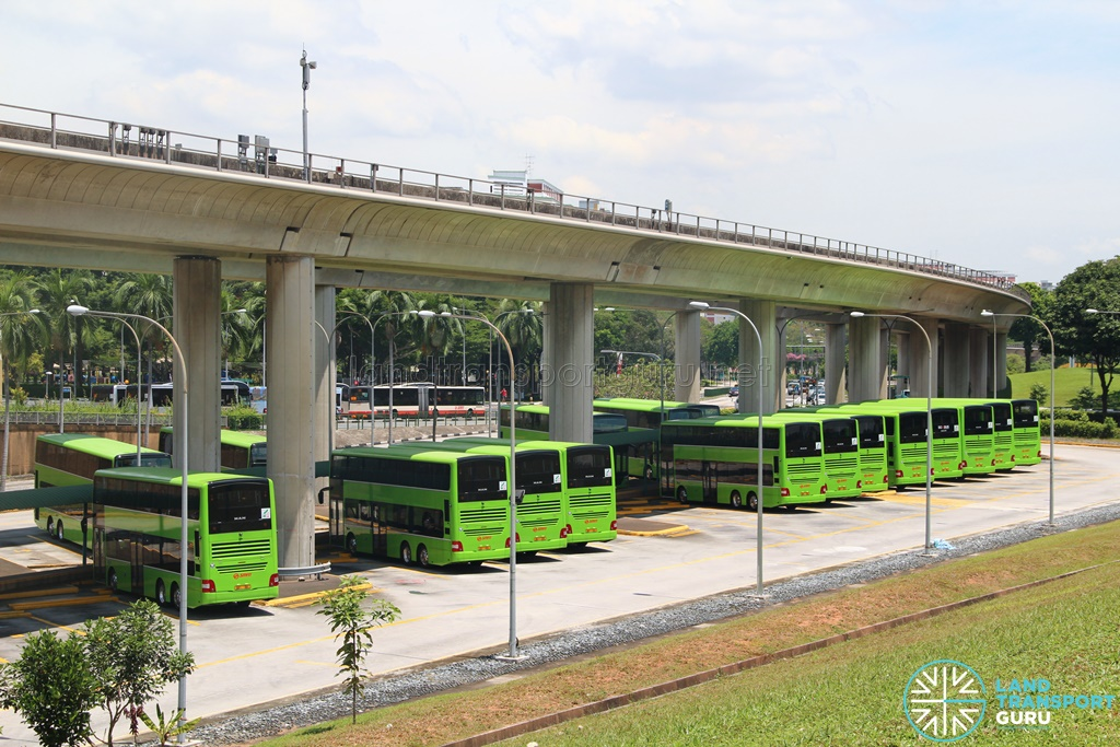 New MAN A95 buses for SMRT
