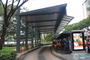 Shelter at Bus Stop 08031 - Dhoby Ghaut Stn, Penang Road