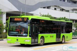 Go-Ahead Mercedes-Benz Citaro (SG1014S) - Service 17
