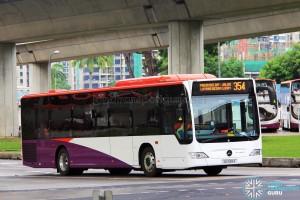 Go-Ahead Mercedes-Benz Citaro (SG1055Z) - Service 354