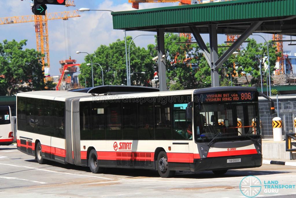 SMRT Mercedes-Benz O405G Habit (TIB1060C) - Service 806