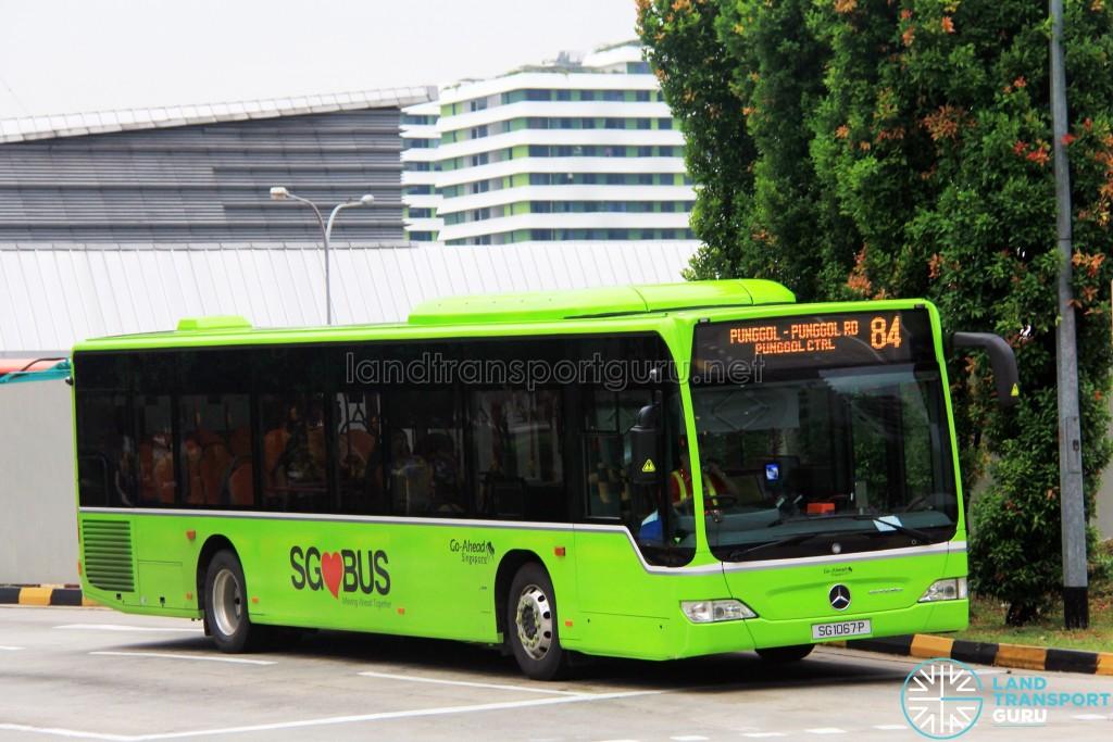 Go-Ahead Mercedes-Benz Citaro (SG1067P) - Service 84