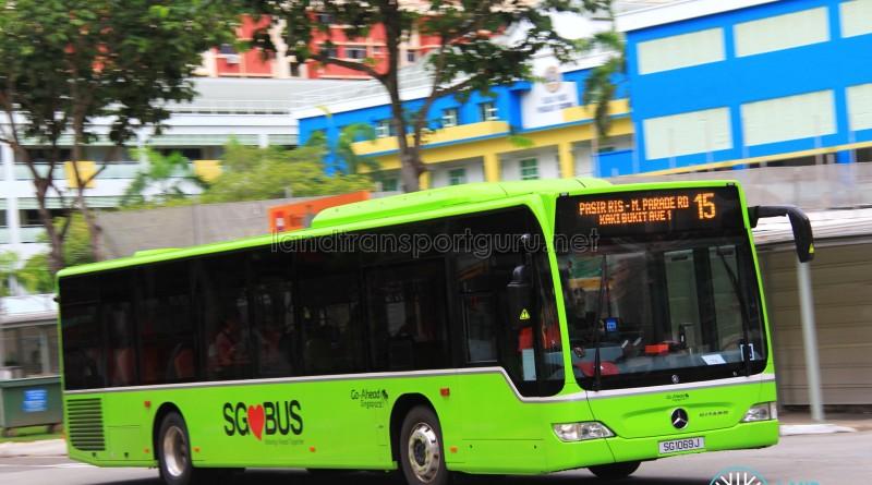 Go-Ahead Mercedes-Benz Citaro (SG1069J) - Service 15