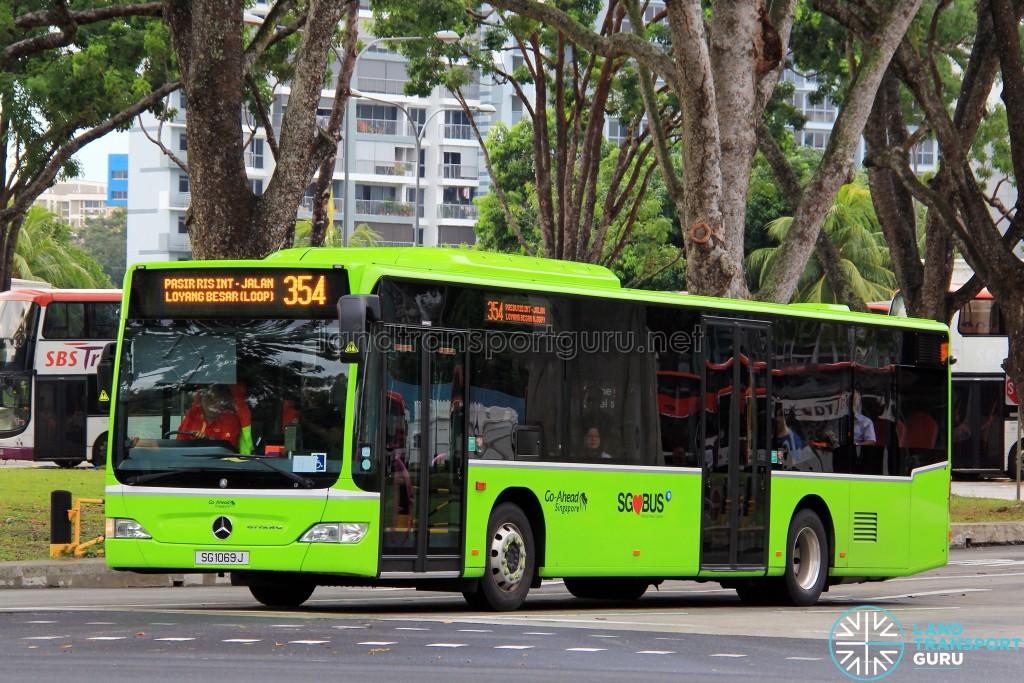 Go-Ahead Mercedes-Benz Citaro (SG1069J) - Service 354