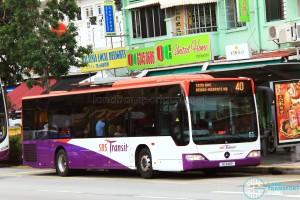 SBS Transit Mercedes-Benz Citaro (SG1148P) - Service 40