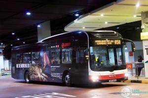 SMRT MAN NL323F (SMB1301K) - Service 858