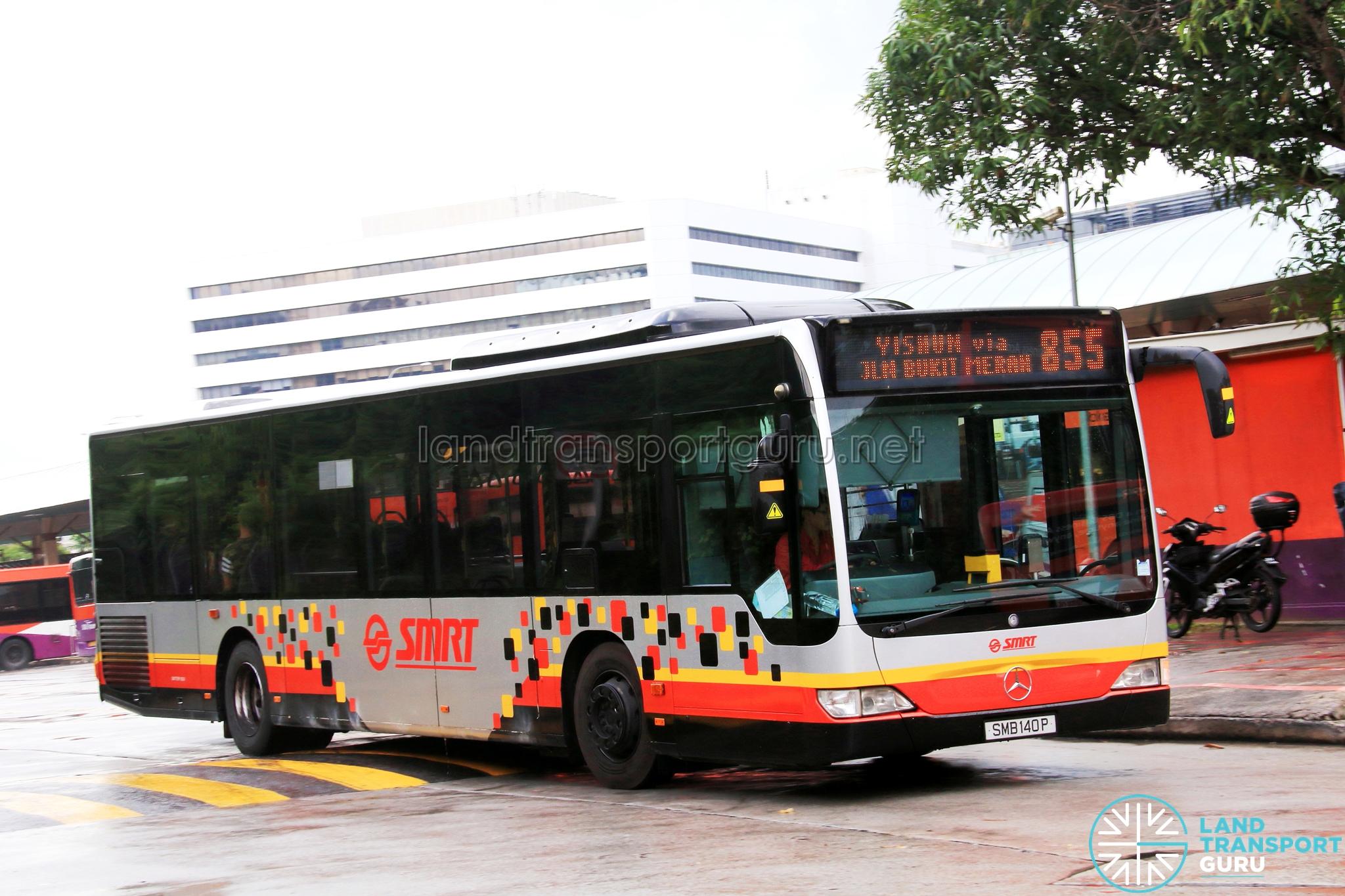 SMRT Mercedes-Benz Citaro (SMB140P) - Service 855