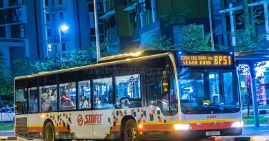 SMRT Mercedes-Benz Citaro (SMB140P) - Service BPS1