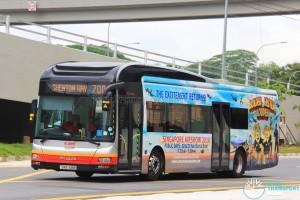 SMRT MAN NL323F (SMB1418H) - Service 700