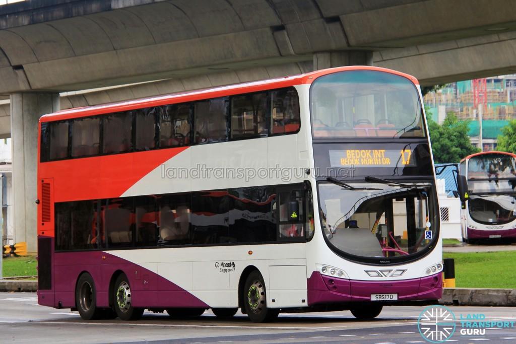 Go-Ahead Volvo B9TL Wright (SBS17D) - Service 17