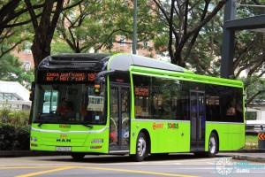 SMRT MAN NL323F A22 (SG1732C) - Service 190