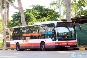 SMRT Mercedes-Benz Citaro (SMB174S) - Service 853#