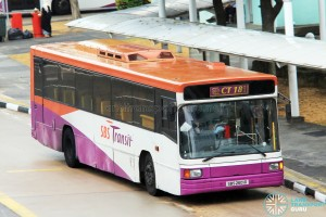 SBS Transit Volvo B10M MkIV Strider (SBS2601D) - Chinatown Direct CT18