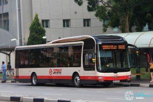 Bus 982E - SMRT MAN A22 (SMB3035R)