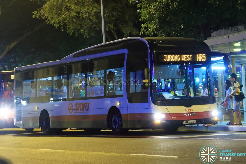 SMRT MAN A22 (SMB3037K) - NightRider NR5