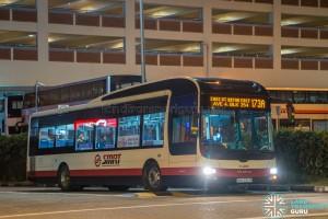 SMRT MAN A22 (SMB3053M) - Service 173A