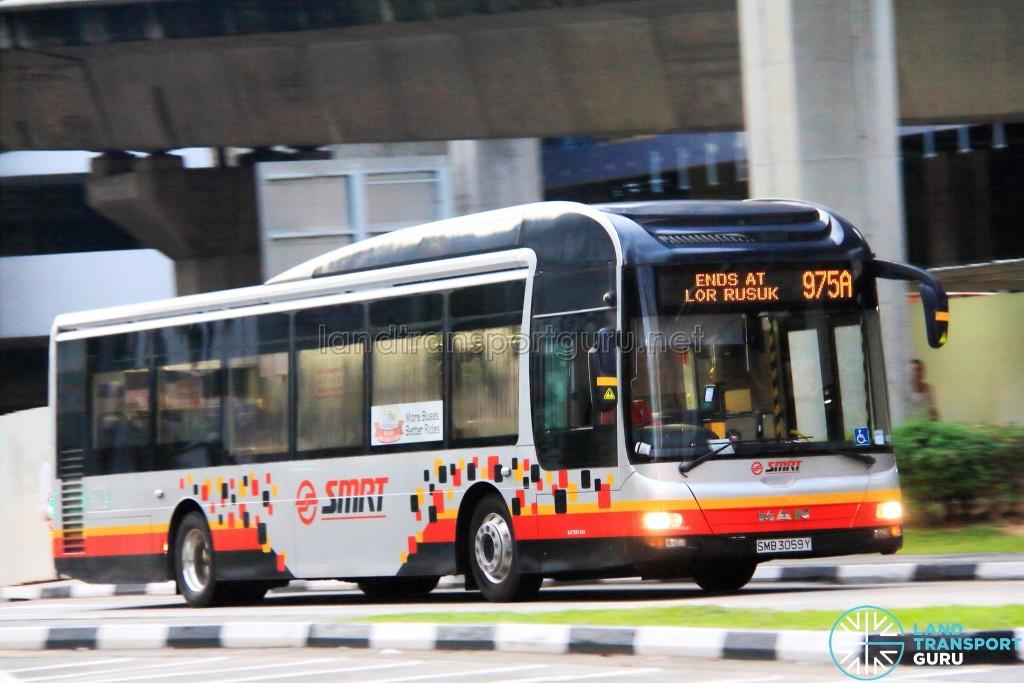 SMRT MAN NL323F (SMB3059Y) - Service 975A