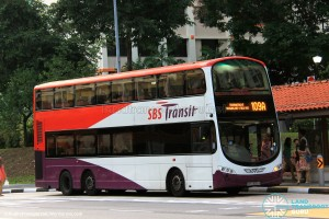 SBST Volvo B9TL (SBS3060H) - Service 109A