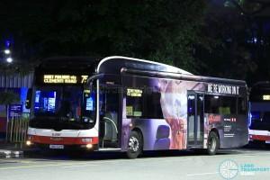 SMRT MAN NL323F (SMB328R) - Service 75