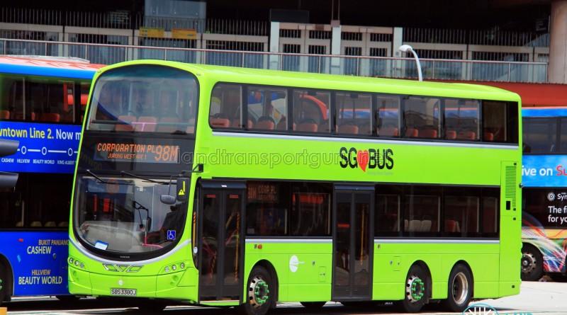 Tower Transit Volvo B9TL Wright (SBS3380J) - Service 98M