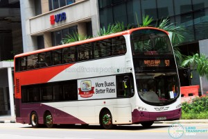 Tower Transit Volvo B9TL Wright (SBS3419H) - Service 97, terminating at Raffles Quay