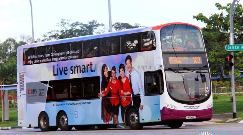 SBS Transit Volvo B9TL Wright (SBS3462G) - Service 103