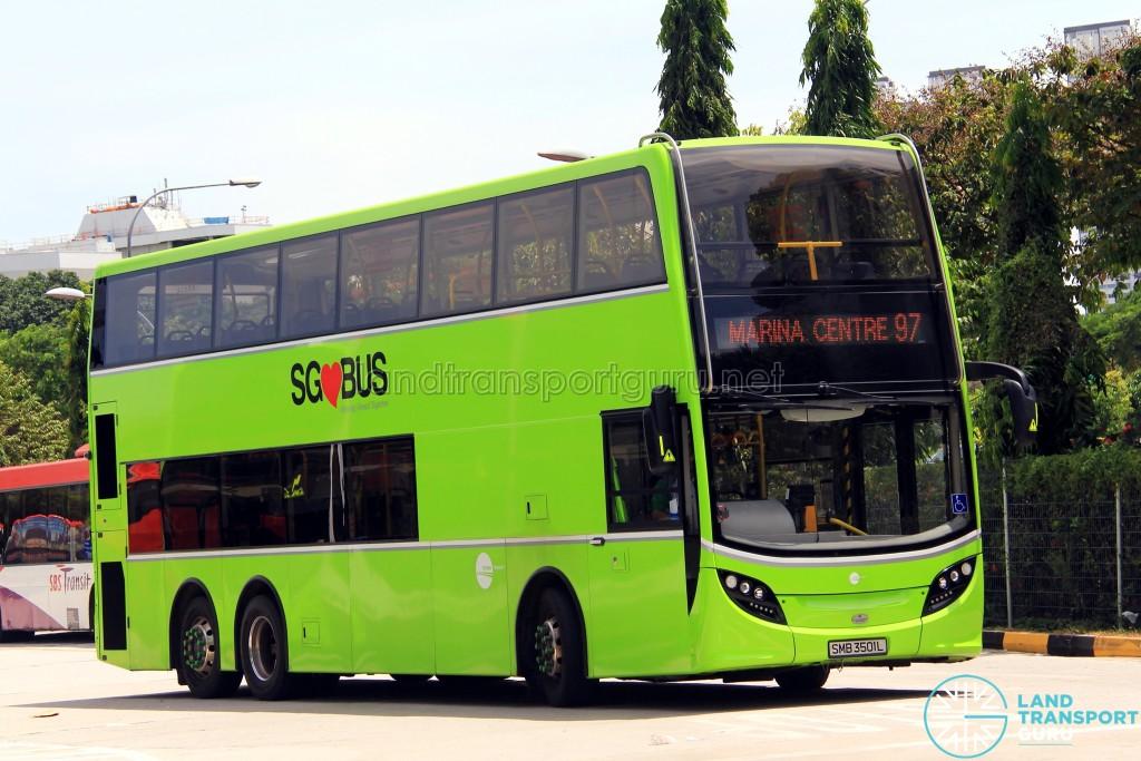 Tower Transit Alexander Dennis Enviro500 (SMB3501L) - Service 97