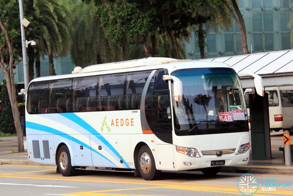 Aedge Yutong ZK6107HA (PC3548L) - Premium 548