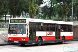 SMRT Mercedes-Benz O405 (TIB466Y) - Service 911