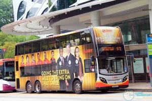 SMRT Alexander Dennis Enviro500 (SMB5010Z) - Service 972