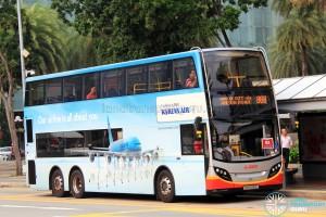 SMRT Dennis Enviro500 (SMB5061E) - Service 868