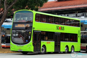 SG5068K on 172 - SMRT Buses Volvo B9TL, Wright Eclipse Gemini II body