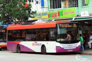 SBS Transit Scania K230UB Euro V (SBS5070R) - Service 76