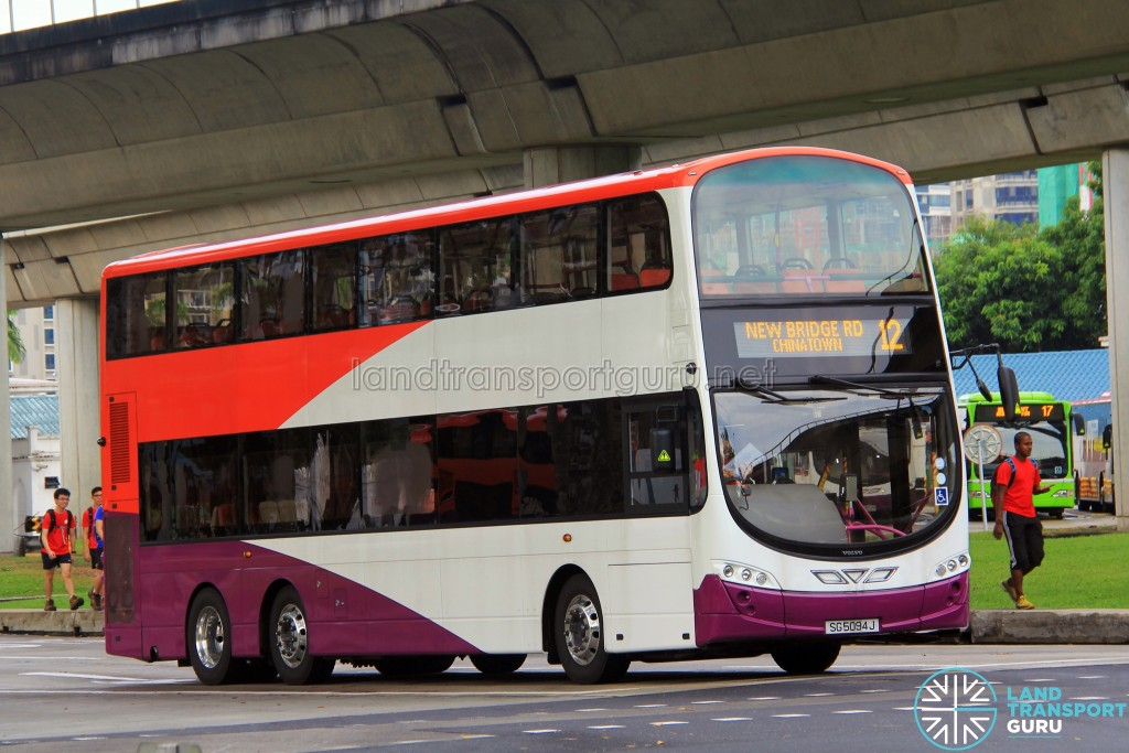 Go-Ahead Volvo B9TL Wright (SG5094J) - Service 12