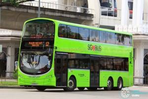 Go-Ahead Volvo B9TL Wright (SG5102U) - Service 12