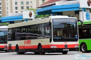SMRT Mercedes-Benz OC500LE (SMB54E) - Service 301