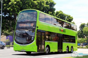 SBST Volvo B9TL (SG5557R) - Service 118