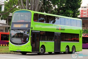 SBS Transit Volvo B9TL Wright (SG5570B) - Service 12