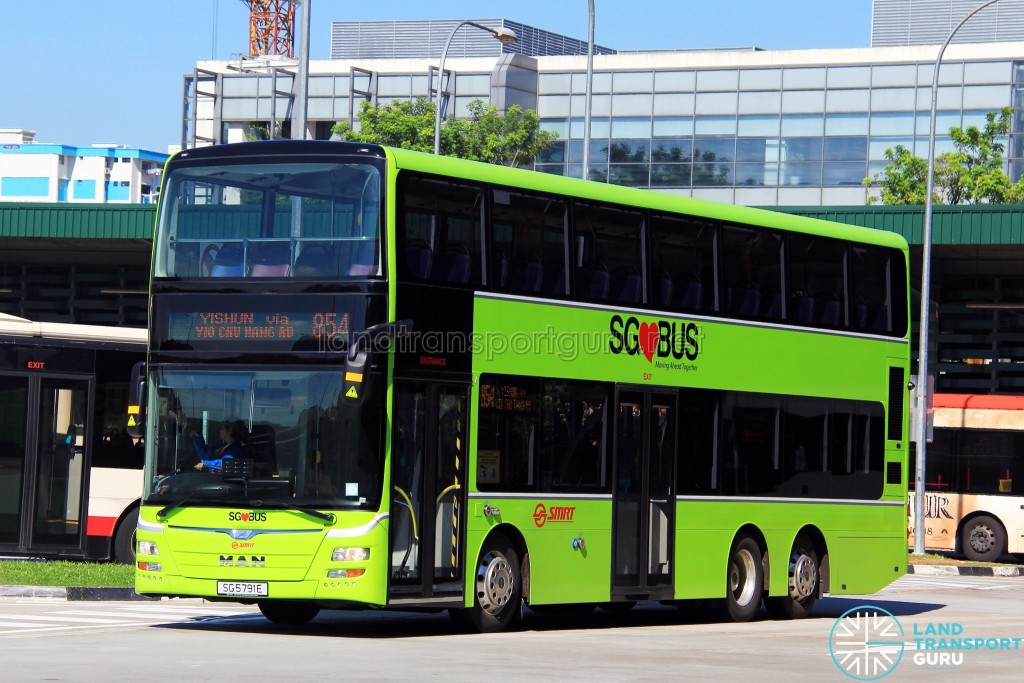 SMRT MAN A95 (SG5791E) - Service 854