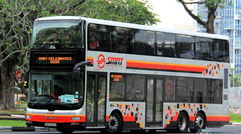 SMRT MAN A95 (SMB5888H) displaying SG50 EDS