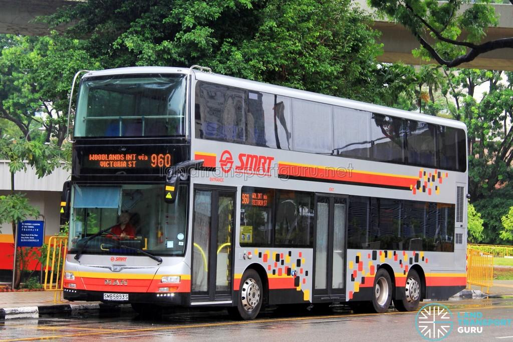 SMRT MAN A95 (SMB5893S) - Service 960
