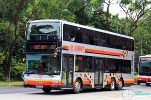 SMRT MAN A95 (SMB5903Y) - Service 187