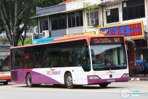 SBS Transit Mercedes-Benz Citaro (SBS6043M) - Service 141