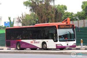 SBS Transit Mercedes-Benz Citaro (SBS6724G) - Service 27