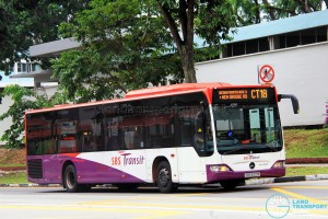 SBS Transit Mercedes-Benz Citaro (SBS6221R) - Chinatown Direct CT18