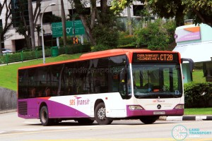 SBS Transit Mercedes-Benz Citaro (SBS6271X) - Chinatown Direct CT28