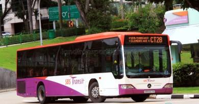SBS Transit Mercedes-Benz Citaro (SBS6271X) - Chinatown Direct CT28