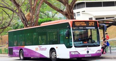 SBS Transit Mercedes-Benz Citaro (SBS6285G) - Service 272