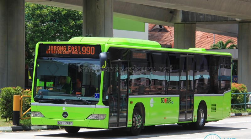 Tower Transit Mercedes-Benz Citaro (SBS6301T) - Service 990